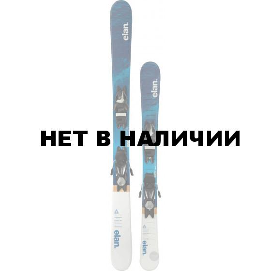 Горные лыжи с креплениями Elan 2017-18 Pinball Pro EL 7.5 QS (125-145)