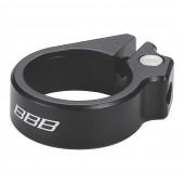 Подседельный хомут BBB Carbonstrangler 28.6 black (BSP-82)