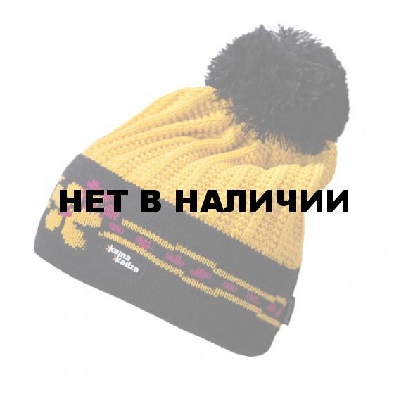 Шапка Kama 2016-17 K54 yellow