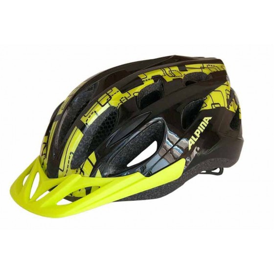 Летний шлем ALPINA SMU MTB 14 black-lime