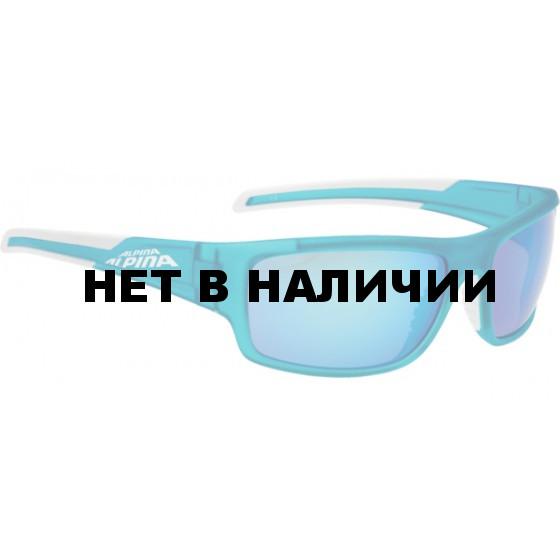 Очки солнцезащитные ALPINA TESTIDO blue matt-white
