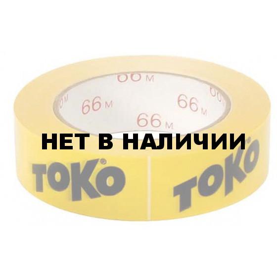 Скотч TOKO Adhesive Tape (желтая, 65 м х 3 см)