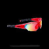 Очки солнцезащитные BBB 2018 Summit PC Smoke MLC red lens красный, черный