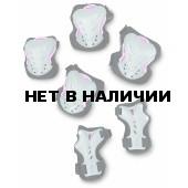 Комплект защиты FILA WOW SET Gear black/silver черный/розовый