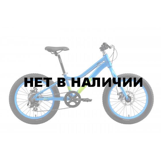 Велосипед Welt 2018 FAT Freedom 20 blue/acid green