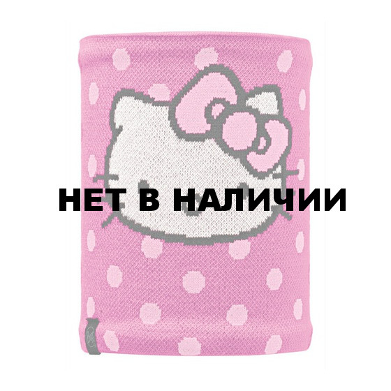 Шарф BUFF NECKWARMER BUFF Knitted&Polar Fleece HELLO KITTY CHILD HELLODOTS/ RASPBERRY