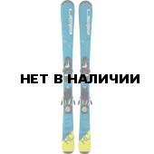 Горные лыжи с креплениями Elan 2017-18 RC Race blue QS 110-120