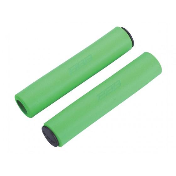 Грипсы BBB 2015 grips Sticky 130mm green (BHG-34)