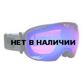 Очки горнолыжные Alpina GRANBY QM anthracite_QM blue sph. S2