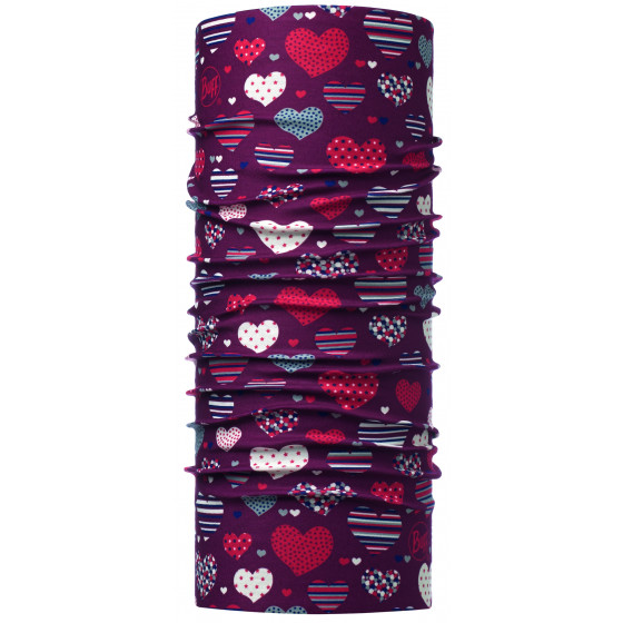 Бандана BUFF ORIGINAL CHILD HEARTY MAROON (US:one size)