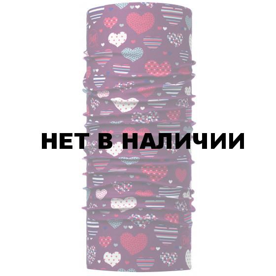 Бандана BUFF ORIGINAL CHILD HEARTY MAROON (US:one size)