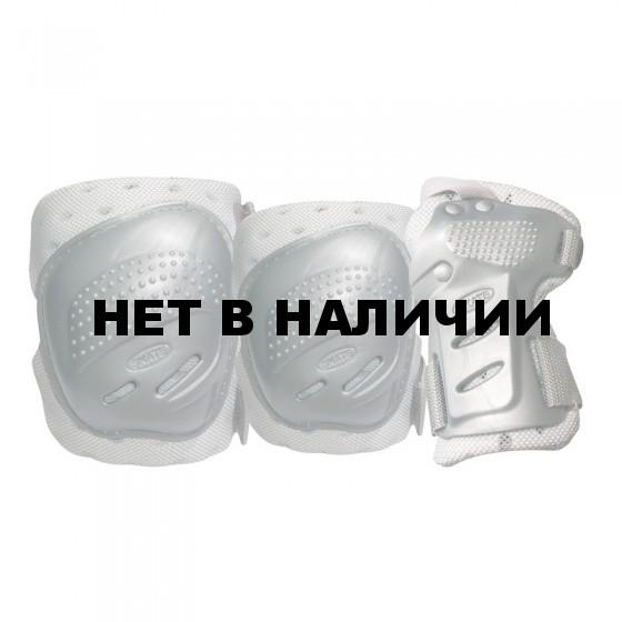 Комплект 3-х элементов защиты TEMPISH COOL MAX 3-set (knee+elbow+wrists) Серебро