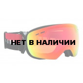 Очки горнолыжные Alpina GRANBY S QMM black matt_QMM red sph. S2
