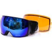 Очки горнолыжные Salice 605DARWF w. Coffre & Spare Lens BLUE/RW CLEAR + SONAR (б/р:ONE SIZE)