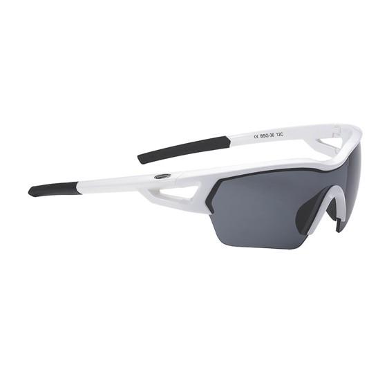 Очки солнцезащитные BBB Arriver white PC smoke lens White (BSG-36)