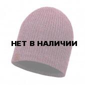 Шапка BUFF KNITTED & POLAR HAT LYNE HEATHER ROSE
