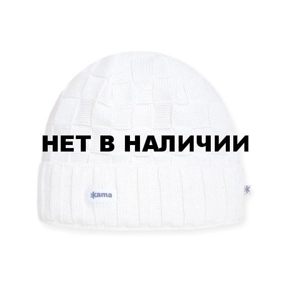 Шапка Kama A34 (off-white) белый
