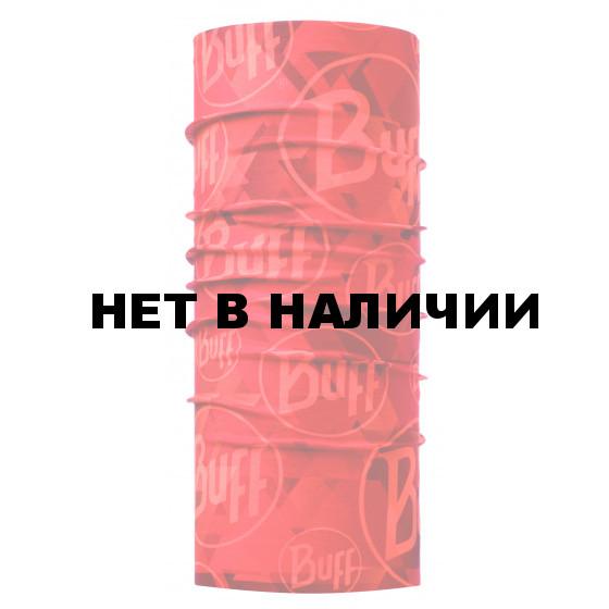 Бандана BUFF ORIGINAL TIP LOGO ORANGE FLUOR (US:one size)
