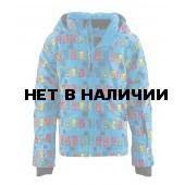 Куртка горнолыжная MAIER 2015-16 0306 Orsellini blue/pink/green allover