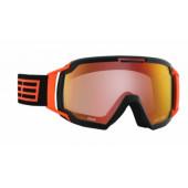 Очки горнолыжные Salice 605DARWF BLACK-ORANGE/RW CLEAR
