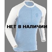 Футболка с длинным рукавом беговая Bjorn Daehlie 2018 Long Sleeve Light Seamless Blue