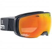 Очки горнолыжные Alpina ESTETICA QMM black matt_QMM red sph S2