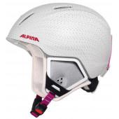 Зимний Шлем Alpina CARAT XT white-polka matt