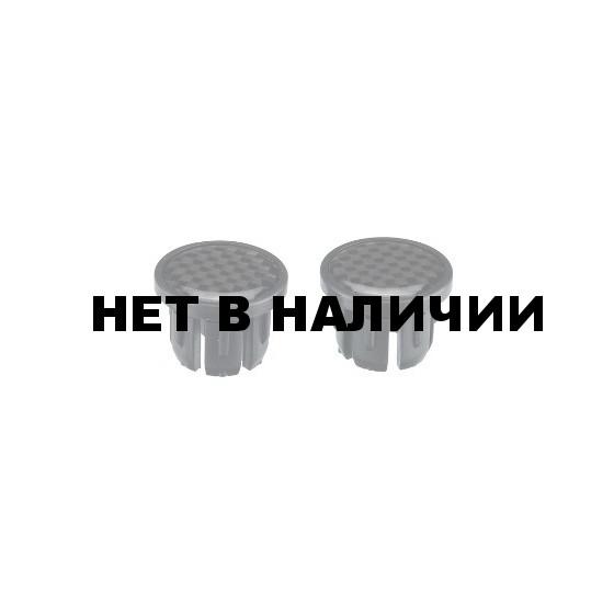 Заглушки для грипс BBB End caps carbon struture 2pcs black (BHT-92S)