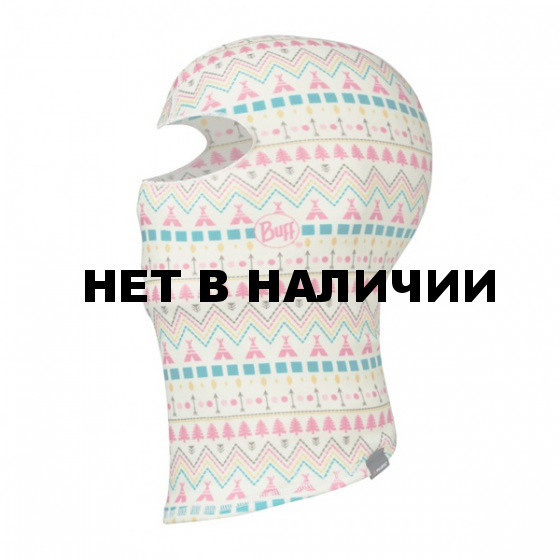 Маска (балаклава) BUFF 2016-17 JR & CHILD POLAR BALACLAVA BUFF® TIPI MULTI-MULTI-Standard