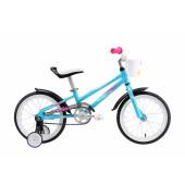 Велосипед Welt 2018 Pony 16 light blue/pink/white