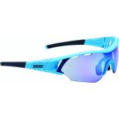 Очки солнцезащитные BBB 2018 Summit PC Smoke MLC blue lens синий