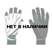 Перчатки велосипедные BBB Racer white green (BBW-32_white green)