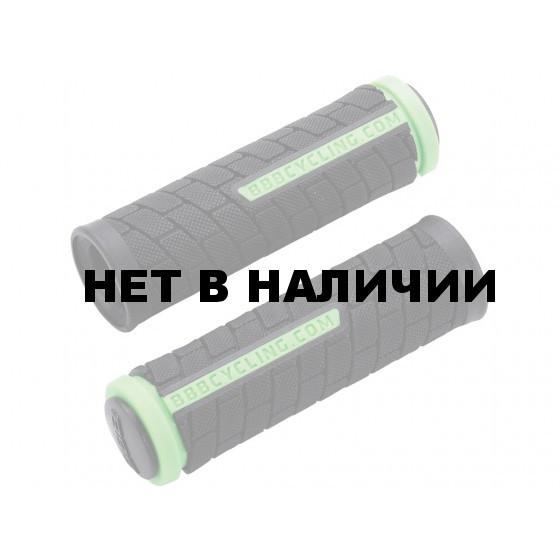 Грипсы BBB DualGrip 102mm черный/зеленый (BHG-07)