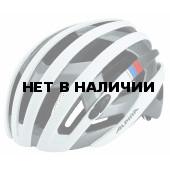 Велошлем Alpina 2018 Campiglio white-silver-blue-red