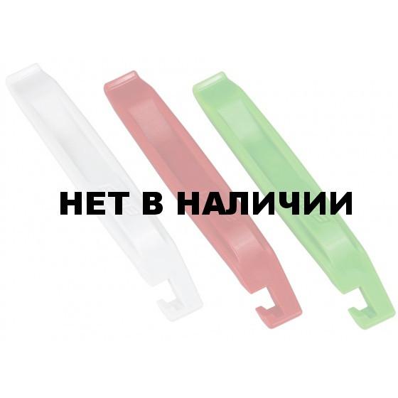 Инструмент BBB tire levers EasyLift 3 pcs red white green (BTL-81)