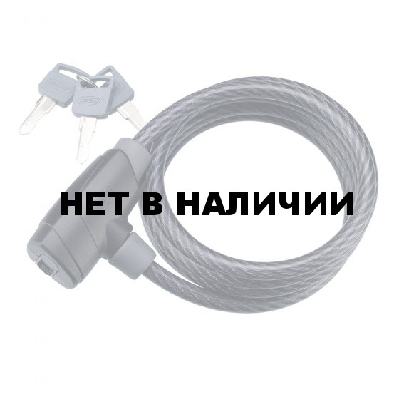 Замок велосипедный BBB PowerSafe 12mm x 1500mm ключевой (BBL-31)