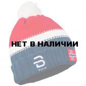 Шапка Bjorn Daehlie 2017-18 Hat Podium 2.0 Heavy Knit Norwegian Flag (US:one size)