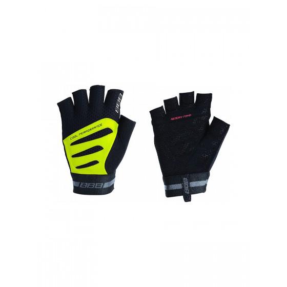 Перчатки велосипедные BBB Equipe black/neonyellow (BBW-48)