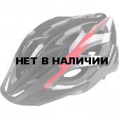 Велошлем Alpina 2018 Seheos black-red-white