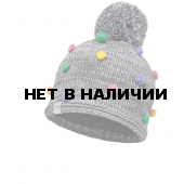 Шапка BUFF KNITTED KIDS COLLECTION CHILD KNITTED & POLAR HAT BUFF ODELL GREY VIGORE/OD