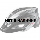 Летний шлем ALPINA Skid 2.0 black-white-red