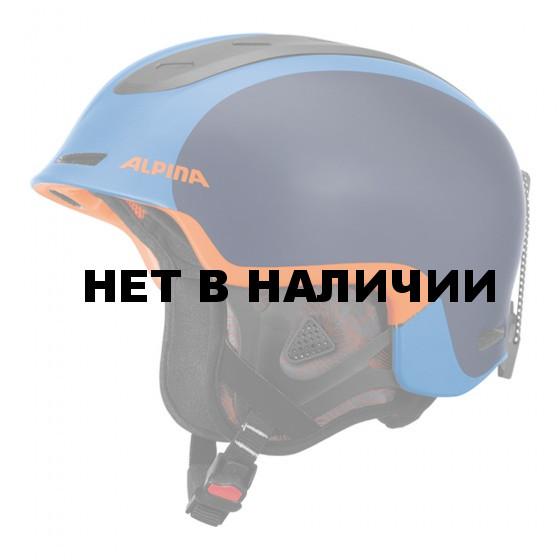Зимний Шлем Alpina SPINE blue-orange matt