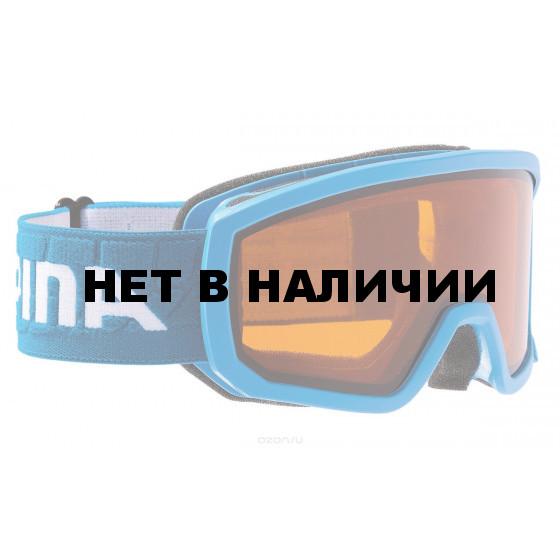 Очки горнолыжные Alpina SCARABEO JR. DH Race blue/white (б/р:ONE SIZE)