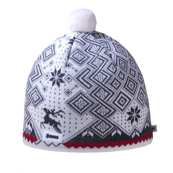 Шапка Kama 2016-17 A58 white