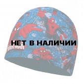 Шапка BUFF SUPERHEROES JR MICROFIBER POLAR HAT BUFF WARRIOR BLUE (US:one size)