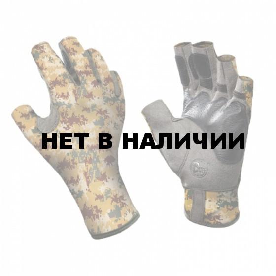 Перчатки рыболовные BUFF Angler Gloves BUFF ANGLER II GLOVES BUFF PIXELS DESERT L/XL