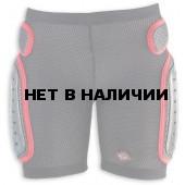Защитные шорты NIDECKER 2016-17 padded plastic shorts white/red