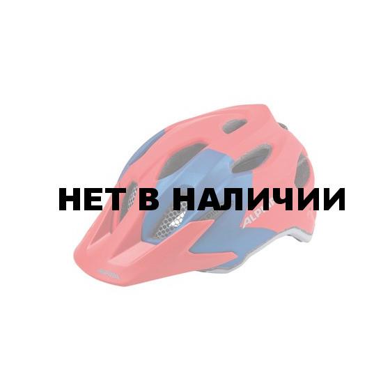 Велошлем Alpina 2018 Carapax Jr. red-blue
