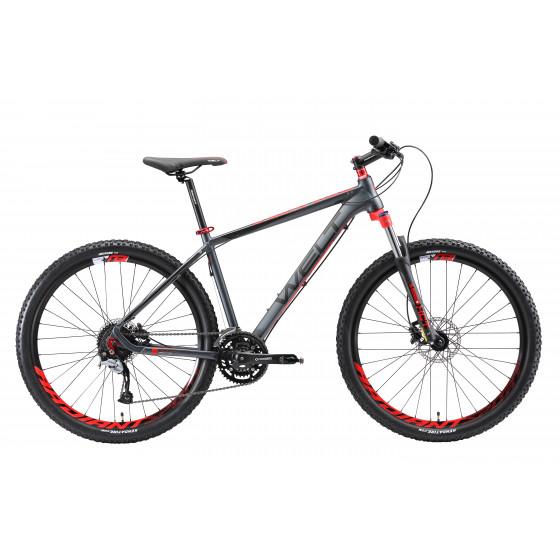 Велосипед Welt 2018 Rockfall 2.0 matt grey/red (US:S)