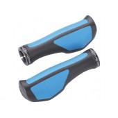Грипсы BBB 2015 grips ErgoFix 132mm black blue (BHG-71)